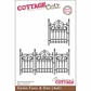 "CottageCutz Die 4""x6"" - Garden Fence & Gate Made Easy"