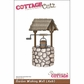 "CottageCutz Die 4""x6"" - Garden Wishing Well"