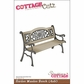 "CottageCutz Die 4""x6"" - Garden Wooden Bench"