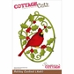 "CottageCutz Die 4""x6"" - Holiday Cardinal"