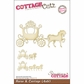 """CottageCutz Die 4""""x6"""" - Horse & Carriage Made Easy"""