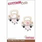 "CottageCutz Die 4""x6"" - Just Married Car"