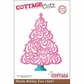 "CottageCutz Die 4""x6"" - Ornate Holiday Tree Made Easy"