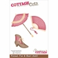 "CottageCutz Die 4""x6"" - Parasol, Fan & Boot"