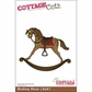 "CottageCutz Die 4""x6"" - Rocking Horse"