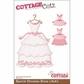 "CottageCutz Die 4""x6"" - Special Occasion Dress"