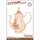 "CottageCutz Die 4""x6"" - Tall Teapot Made Easy"