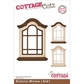 "CottageCutz Die 4""x6"" - Victorian Window Made Easy"