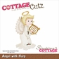 CottageCutz Die - Angel w/Harp
