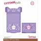 CottageCutz Die - Birthday Gift Card Holder