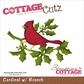 CottageCutz Die - Cardinal w/Branch