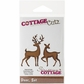 CottageCutz Die - Deer Set
