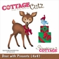 CottageCutz Die - Deer w/Presents