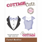 CottageCutz Die - Formal Neckline Made Easy