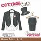 "CottageCutz Die - Groom Attire 4""x4"""