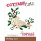 CottageCutz Die - Holiday Dove