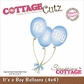 CottageCutz Die - It's A Boy Balloons