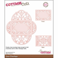 CottageCutz Die - Lace Envelope Made Easy