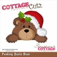 CottageCutz Die - Santa Bear