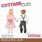 "CottageCutz Die - Wedding Kids 4""x4"""
