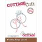 "CottageCutz Die - Wedding Rings Made Easy 3""x3"""