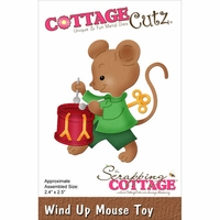 CottageCutz Die - Wind Up Mouse Toy