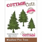 "CottageCutz Elites Die 1.5""x2.5"" - Woodland Pine Trees"