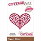 "CottageCutz Elites Die 2.2""x1.7"" - Sweet Heart"