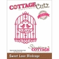 "CottageCutz Elites Die 2.2""x3.1"" - Sweet Love Birdcage"