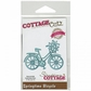 "CottageCutz Elites Die 3""x2.2"" - Springtime Bicycle"