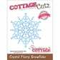 CottageCutz Elites Die - Crystal Flurry Snowflake