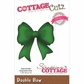 CottageCutz Elites Die - Double Bow