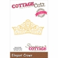 CottageCutz Elites Die - Elegant Crown
