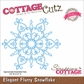 CottageCutz Elites Die - Elegant Flurry Snowflake