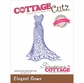 CottageCutz Elites Die - Elegant Gown