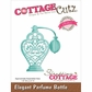 CottageCutz Elites Die - Elegant Perfume Bottle