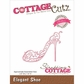 CottageCutz Elites Die - Elegant Shoes