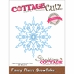 CottageCutz Elites Die - Fancy Flurry Snowflake