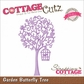 CottageCutz Elites Die - Garden Butterfly Tree