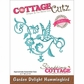 CottageCutz Elites Die - Garden Delight Hummingbird