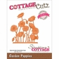 CottageCutz Elites Die - Garden Poppies