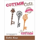 CottageCutz Elites Die - Halloween Gothic Keys