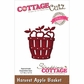 CottageCutz Elites Die - Harvest Apple Basket