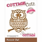 CottageCutz Elites Die - Harvest Owl