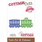 CottageCutz Elites Die - Train Car & Caboose