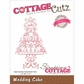 CottageCutz Elites Die - Wedding Cake