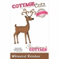 CottageCutz Elites Die - Whimsical Reindeer