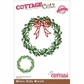 CottageCutz Elites Die - Winter Holly Wreath