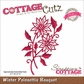 CottageCutz Elites Die - Winter Poinsettia Bouquet