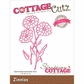 CottageCutz Elites Die - Zinnias